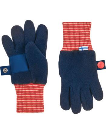 Finkid Fleece Gants SORMIKAS navy/red 1632016-100200