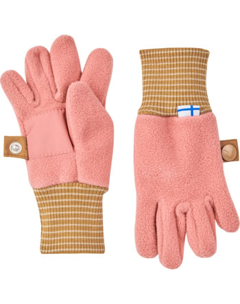 Finkid Fleece Finger-Handschuhe SORMIKAS rose/cinnamon 1632010-206416