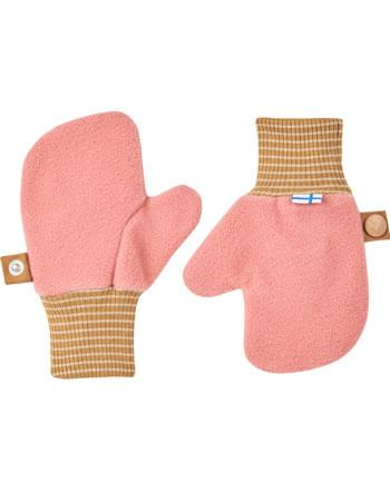 Finkid Fleece Handschuhe Fäustlinge NUPUJUSSI rose/cinnamon 1632009-206416