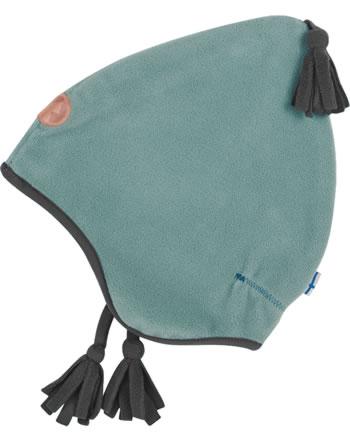 Finkid Fleece Zipfelmütze PIPO trellis/graphit 1612003-158412