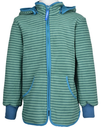 Finkid Fleecejacket Zip-In TONTTU STRIPED trellis/seaport 1122014-158102