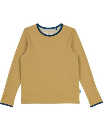 Finkid T-Shirt fonction TAAMO WOOL cinnamon/navy 1532015-416100