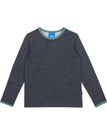 Finkid Function T-Shirt longsleeve TAAMO WOOL graphit/trellis 1533001-412158