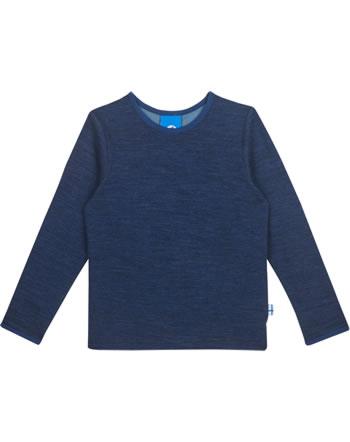 Finkid Funktions-T-Shirt TAAMO WOOL navy/denim 1533001-100113