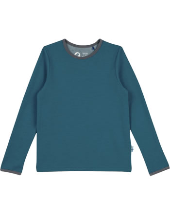 Finkid T-Shirt fonction TAAMO WOOL seaport/charcoal 1532015-102701