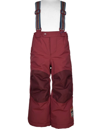 Finkid Reinforced Padded Outdoor Pants ROMPPA PLUS cabernet 1312002-249000