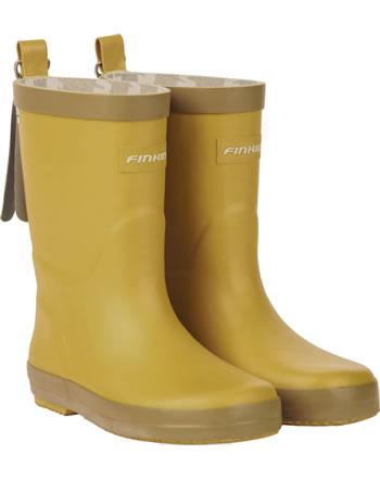 Finkid Gummistiefel KUMI golden yellow/cinnamon 7332023-609416