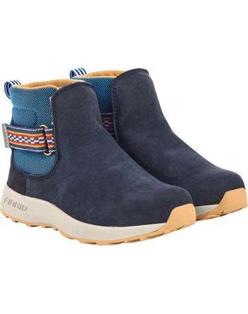 Finkid Halbstiefel Chelsea Boots PUOLI navy/cinnamon 7332019-100416