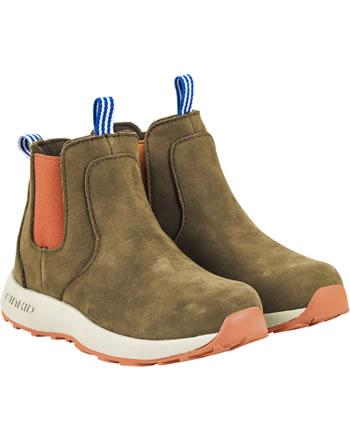 Finkid Halbstiefel Chelsea Boots SAAPAS cocoa/chili 7332018-507202