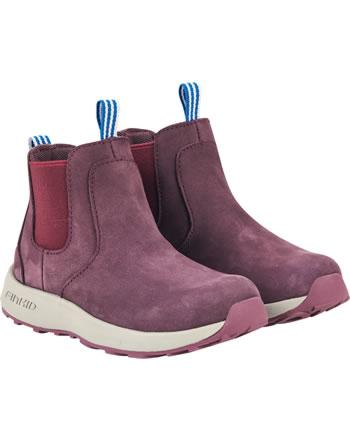 Finkid Halbstiefel Chelsea Boots SAAPAS eggplant/beet red 7332018-260259