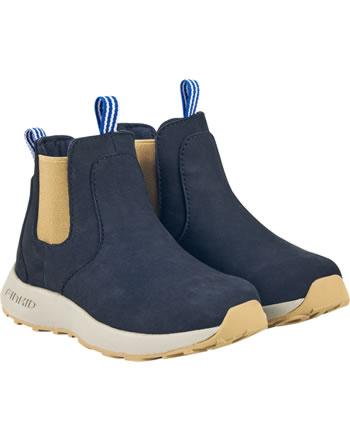 Finkid Halbstiefel Chelsea Boots SAAPAS navy/cinnamon 7332018-100416