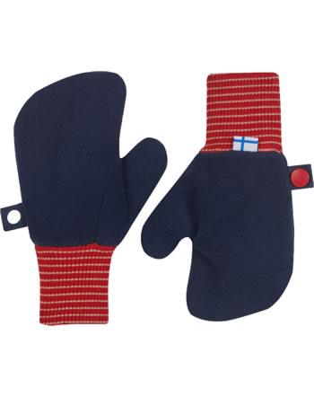 Finkid Fleece Handschuhe Fäustlinge NUPUJUSSI navy/red 1632001-100200