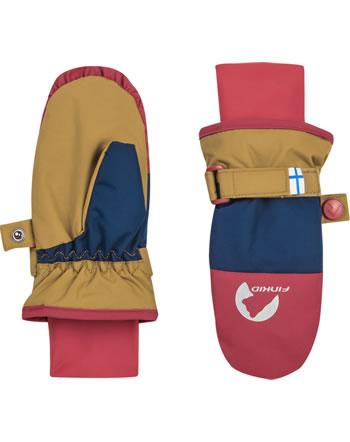 Finkid Handschuhe Fäustlinge KIRJAVA cinnamon/red 1632013-416200