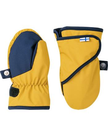 Finkid Handschuhe Fäustlinge LAPANEN golden yellow/navy 1632011-609100