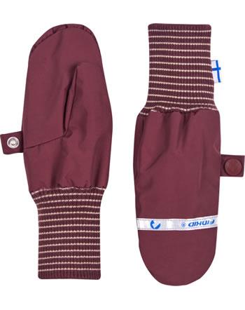 Finkid Handschuhe Fäustlinge RUKKANEN cabernet 1632012-249000