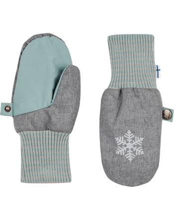 Finkid Handschuhe Fäustlinge RUKKANEN ICE charcoal/smoke blue1632020-701152