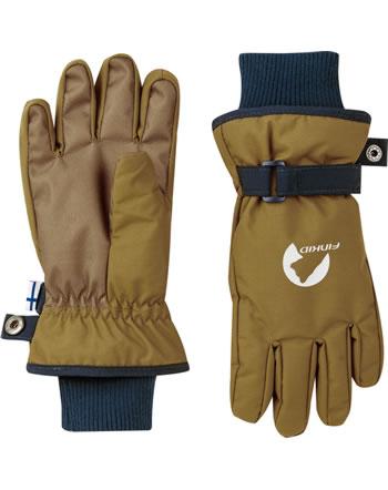 Finkid Handschuhe Fingerhandschuhe PIKKURILLI cinnamon/navy 1632008-416100