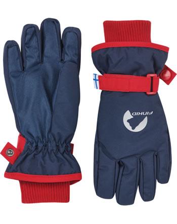 Finkid Handschuhe Fingerhandschuhe PIKKURILLI navy/red 1633004-100200