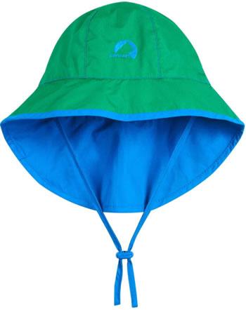 Finkid Hut Sommersüdwester RANTA SPORT pepper green/blue 1622016-331103