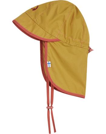 Finkid Hut Sommersüdwester RANTALI LSF 50+ golden yellow/chilli 1622021-609202