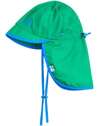Finkid Hut Sommersüdwester RANTALI pepper green/blue 1622015-331103