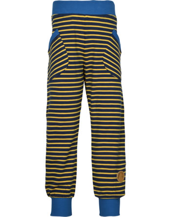 Finkid Jersey-Hose TIIKERI LSF 50+ navy/golden yellow 1362013-100609