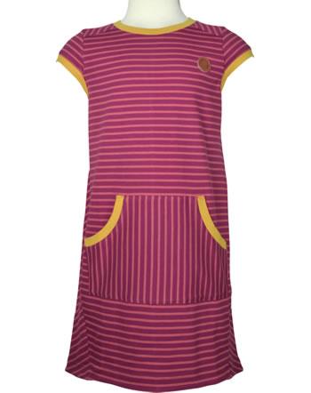 Finkid Jersey-Kleid Kurzarm KEIDAS LSF 50+ beet red/chili 1422012-259202