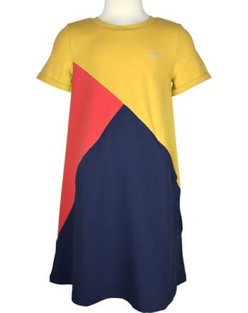 Finkid Jersey-Kleid MERIKORTTI LSF 50+ golden yellow/chili 1422014-609202