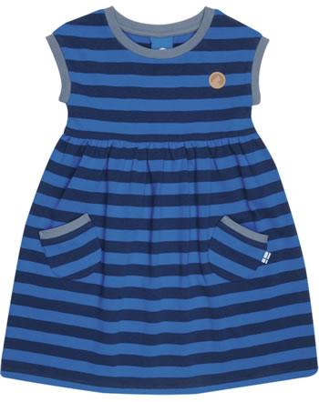 Finkid Jersey-Kleid Kurzarm Streifen LILLI majolica/seablue 1422003-160165