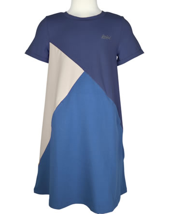 Finkid Jersey-Kleid MERIKORTTI LSF 50+ navy/pebble 1422014-100443
