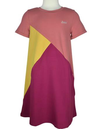 Finkid Jersey-Kleid MERIKORTTI LSF 50+ rose/golden yellow 1422014-206609