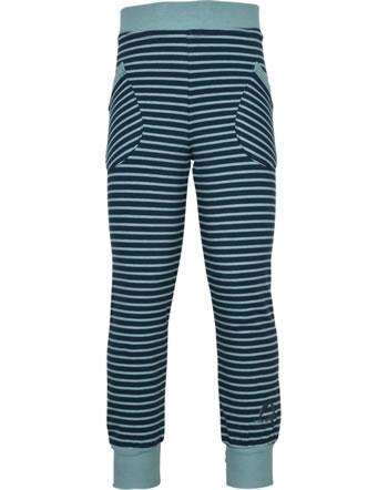 Finkid Jogginghose Ringel HUVI navy/smoke blue 1362014-100152