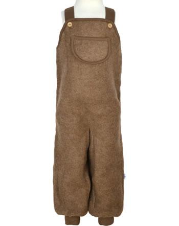 Finkid Latzhose Wollfleece KEINU WOOL cocoa 1362015-507000
