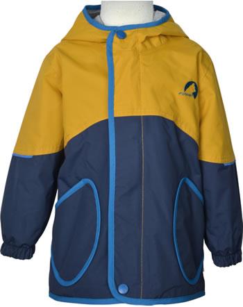 Finkid Outdoorjacket AARRE golden yellow/nautic 1152003-609119