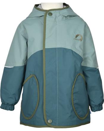 Finkid Outdoorjacket AARRE trellis/bronze green 1152003-158333