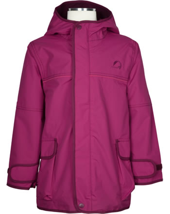 Finkid Outdoorjacke Zip In TUULIS persian red/cabernet 1112001-247249