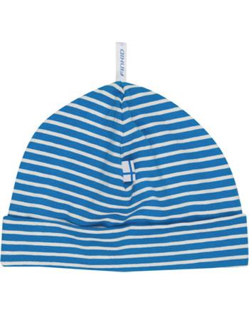 Finkid Ringel Jerseymütze HITTILI blue/offwhite 1611008-103406