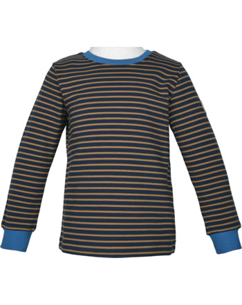 Finkid T-Shirt manches longues RIVI navy/cinnamon 1532007-100416