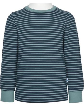 Finkid Ringel T-Shirt Langarm RIVI navy/smoke blue 1532014-100152