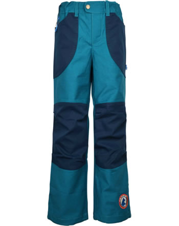 Finkid Robust trousers in worker style KUU HUSKY seaport 1352020-102000