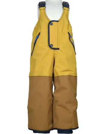 Finkid Robuste Winterhose KAJO HUSKY golden yellow/navy 1312009-609100