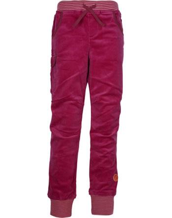 Finkid Schmale Kord-Cargohose KISSA persian red/cabernet 1352013-247249