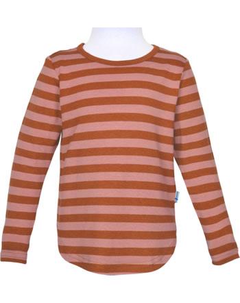 Finkid Shirt aus Bambusjersey Langarm MERISILLI chili/peach 1533005-202219
