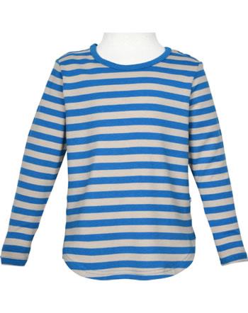 Finkid Shirt aus Bambusjersey Langarm MERISILLI nautic/pebble 1533005-119443