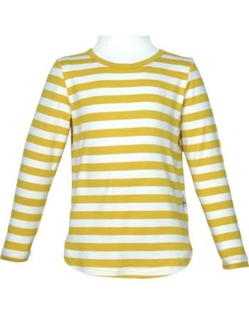 Finkid Shirt Bambusjersey Langarm MERISILLI goldenyellow/offwhite 1533005-609406