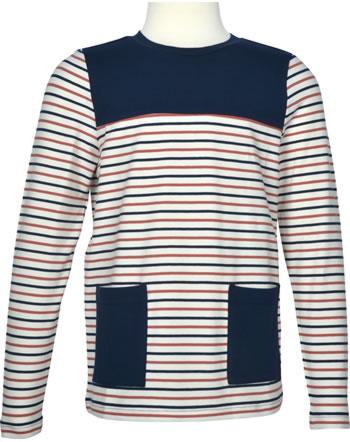 Finkid Shirt Langarm MATRUUSI navy/chili 1532012-100202