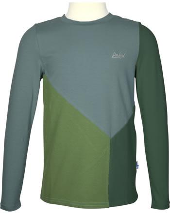 Finkid Shirt Langarm RANNIKKO LSF 50+ bronze green/trellis 1532013-333158