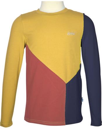 Finkid Shirt Langarm RANNIKKO LSF 50+ chili/golden yellow 1532013-202609