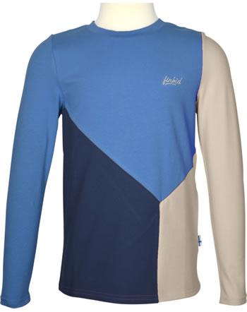 Finkid Shirt Langarm RANNIKKO LSF 50+ navy/nautic 1532013-100119