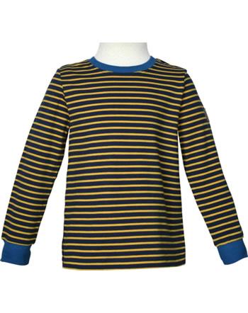 Finkid Shirt Langarm RULLA LSF 50+ navy/golden yellow 1532011-100609